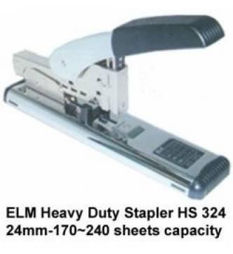 ELM HS-324 Heavy/duty Stapler, 6-24mm-240shts
