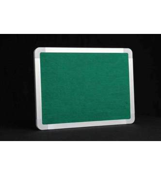 Felt Notice Board Green w/Aluminium frame.2 x 3 feet (600 X 900mm)
