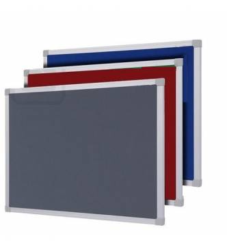 Felt Notice Board Coloured w/Aluminium frame.2 x 3 feet (600 X 900mm)